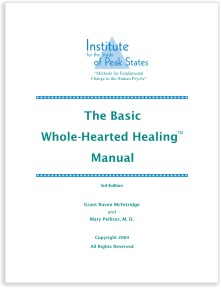 Basic Whole-Hearted Healing Manual cover image