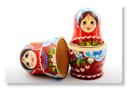 Image of russian dolls