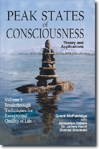 Cover of Peak States of Consciousness